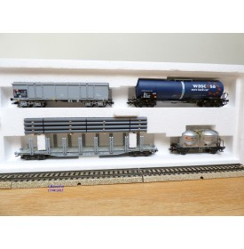 Märklin 46095,  coffret de 4  wagons  SBB  neuf   BO