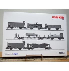 Märklin 46082, Coffret 7  wagons anciens  K.Bay.Sts.B.   neuf  BO