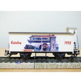 Märklin 98709 / 4680,901,  wagon couvert  à guérite Katalogwagen 1932   neuf   BO