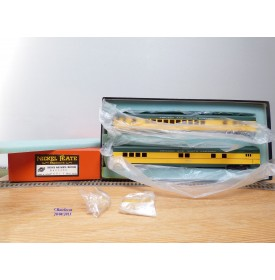 NICKEL PLATE PRODUCTS   ???, coffret de 2 voitures ( Baggage et Parlor ) Chicago and Northwestern ( C&NW)  neuf   BO