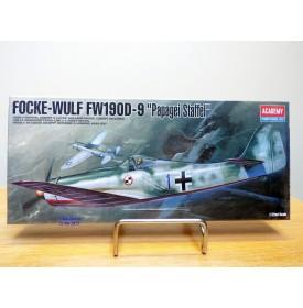 """ACADEMY 1611,  FOCKE-WULF  FW190D-9  """" Papagei Staffel """" BO 1/72"""