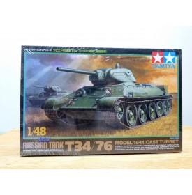 TAMIYA 32515,  Char russe T 34/76 Model 1941  Neuf  BO  1/48