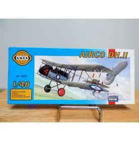 SMER 0806, chasseur biplan britannique  AIRCO  DH,II  RFC   neuf    BO 1/48