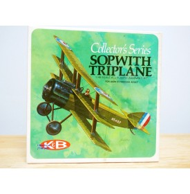 K&B ( AURORA ) 1100 170,  SOPWITH Triplane  Neuf   BO  1/48