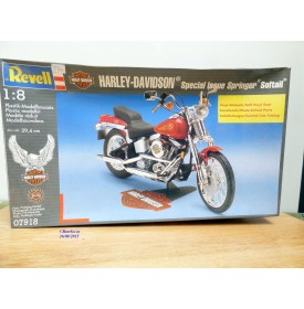 REVELL 07918, HARLEY DAVIDSON special issue Springer Softail  neuf  BO  1/8