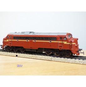 """MÄRKLIN  3068, locomotive diesel A1A A1A  """"Nohab"""" série Di3 NSB  BO"""