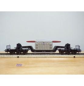 Märklin métal 4617 . 2, wagon surbaissé type SSI 53 AEG  DB  BO