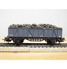 ELECTROTREN  1201, wagon tombereau  chargé de ballast    RENFE   neuf  BO