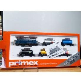 PRIMEX ( Märklin )  2702, coffret Jubiläumszug : motrice E44 et 5 wagons citerne  DB  Neuf   BO