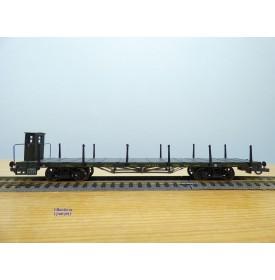 TRIX 23914,  wagon plat à ranchers à guérite  tK.B.Sts.B. neuf  BO
