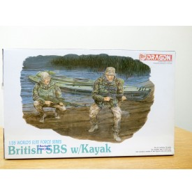 DRAGON 3023, commandos anglais SBS avec kayak 1/35  NEUF