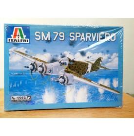 ITALERI 1225  Bombardier SAVOIA MARCHETTI SM79 SPARVIERO Neuf 1/72
