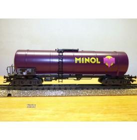 Märklin 4856,  wagon citerne MINOL   DB  neuf  BO