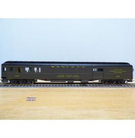 RIVAROSSI  2716, voiture mixte passager / fourgon  ( Heavyweight Combine  ) N°: 2602  ATSF  neuf  BO