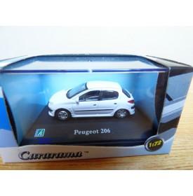 Cararama 1/72 ???, Peugeot 206 bleue neuve  BO