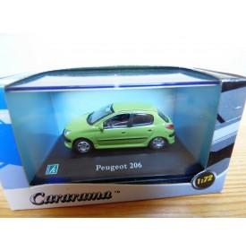 Cararama 1/72 ???, Peugeot 206 vert neuve  BO