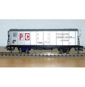 ELECTROTREN  1312  wagon couvert PESCADOS CONGELADOS  RENFE   BO
