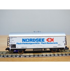FLEISCHMANN  8322,   wagon couvert  type lbdlps-v 385   NORDSEE   DB  neuf  BO   N