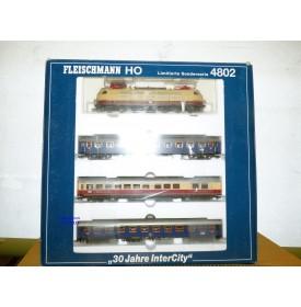 FLEISCHMANN  4802 K , coffret  30 Jahre Intercity   DB  neuf   BO