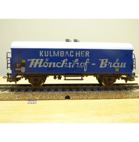 Märklin 4660, wagon couvert réfrigérant type Tehs 50 Kulmbacher Mönschof-Bräu  Neuf   DB   BO