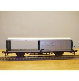 FLEISCHMANN 5336,  wagon couvert postal à parois coulissantes ( Bahnpost)  PTT  SBB  neuf  BO