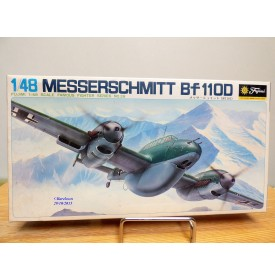 FUJIMI 5A28,  MESSERSCHMITT  Bf 110D  Neuf   BO 1/48