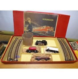Märklin CM 805/3, coffret  1 loco Br 89, 3 wagons et rails  DB  BO