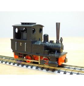 "EGGER BAHN 106, locomotive à vapeur ""Feurige Elias"" neuf BO"