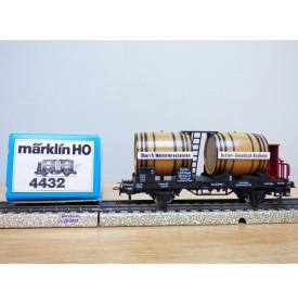 ** MARKLIN wagon vin Elsass Lothringen 4432 **