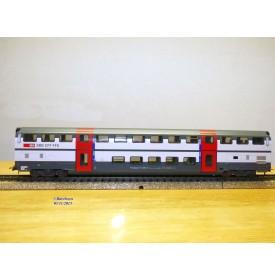 HAG   490.05 ,  voiture 2 Kl.  IC 2000  à 2 étages type B DS IC  N° : B 50 85 26-94 018-6 SBB   neuf    BO