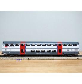 HAG   490.07 ,  voiture 2 Kl.  IC 2000  à 2 étages type B DS IC  N° : B 50 85 26-94 081-4   SBB   neuf    BO