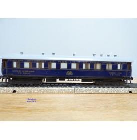 TRIX Express 20 / 166, rare voiture restaurant  Wagon Lits  CIWL
