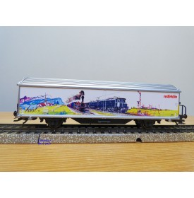 Märklin 97710,  wagon couvert  Loisl Spanish Brötli Bahn et Ae 8/14   neuf   BO