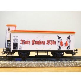 Märklin 94072 / 2000717,  wagon couvert  à guérite Rote Funken Köln  neuf   BO
