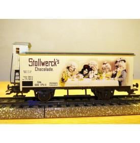 Märklin 48300 / 2000721,  wagon couvert  à guérite Stollwerck's Chocolade    neuf   BO