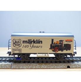 Märklin 2000712 / 4415,  wagon couvert  à guérite Märklin 140 Jahre    neuf   BO
