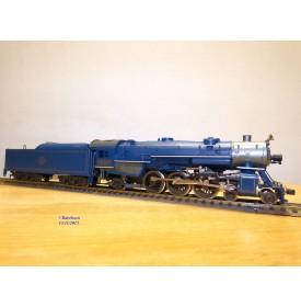 AHM / Rivarossi  véro 5087-50 / 1282,  locomotive  heavy Pacific  4 6 2  N°: 1980  NMRA  Neuf   BO