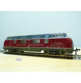 Fleischmann 1381 . 2, loco diesel Bo Bo  V200  DB   neuf  BO