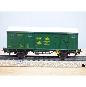 Märklin 4491, wagon couvert type Ukks  transport de vélos  CFL  neuf   BO