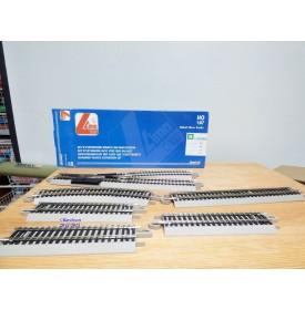 LIMA  L453711, 4 rails courbes R2 445 mm   30°  neufs   BO