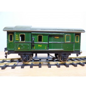 MÄRKLIN 1489, wagon plat à bogies