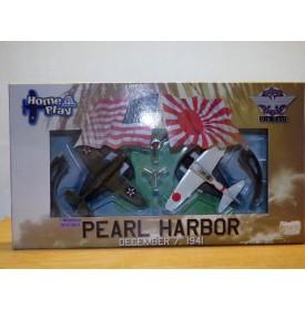 ITALERI  Home Play  Diecast 41500,  Pearl Harbor A6M2 Zéro  et CURTISS P-40   BO Neuf 1/ 100