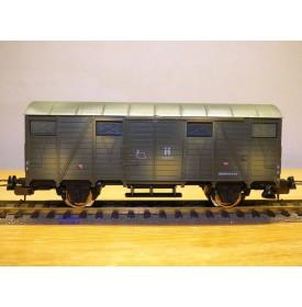 LIMA véro  303508,  wagon couvert  camouflé  DRG    neuf   BO