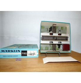 Märklin 7192, passage à niveau électrique   neuf   BO