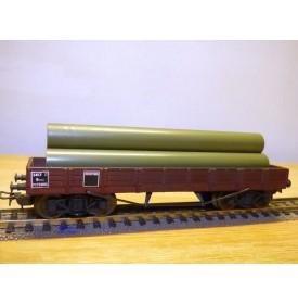 SMCF ???, wagon plat type USA 1918  à  2 bogies  type Qhoy   SNCF  BO