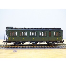 ROCO 44524, wagon ancien à 3 essieux et guérite  DB BO