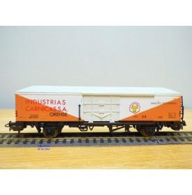 ELECTROTREN  1471,  wagon couvert  réfrigérant  INDUSTRIAS CARNICAS   RENFE    neuf   BO