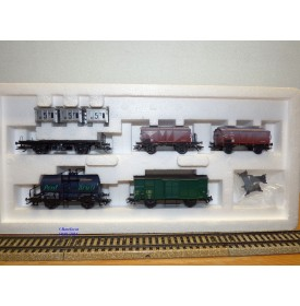 Märklin  47877, coffret  5  wagons  Oldtimers  SNCB   neuf   BO