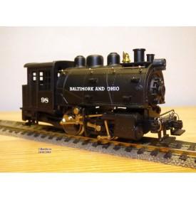 Rivarossi  véro 1221,  locomotive 020 T type C 16 Dockside  B&O  neuf  BO