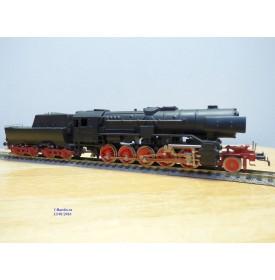 Rivarossi  véro  / Trix 11331, rarissime loco 150 Decapod Br 42  555  DB   BO